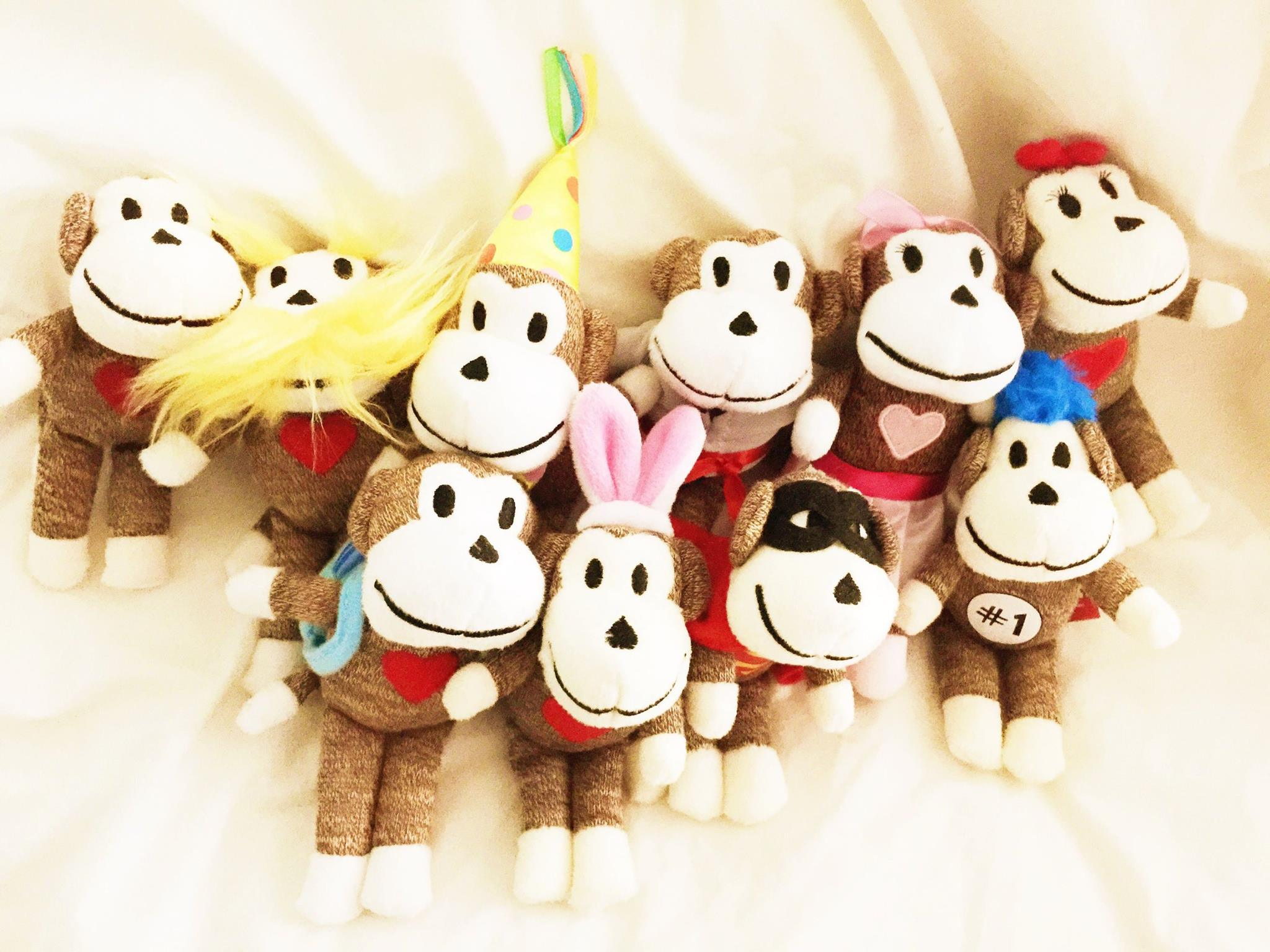 Spend $5 at a live sale and enter a drawing to win one of these monkeys!